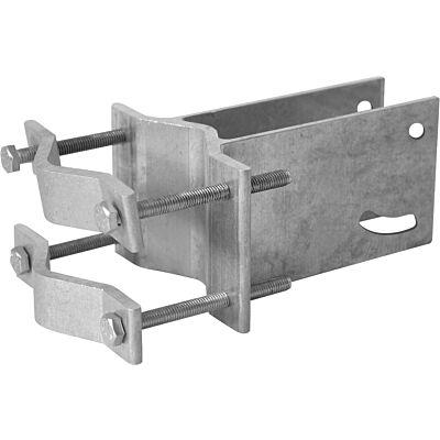 An-Rohr-Fitting für DIGIDISH 33/45 und SATMAN 33/45, 30-63 mm, silber