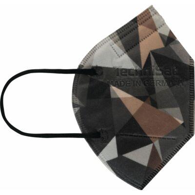 TECHNIMASK Mini, 5 Stück (1 Polybeutel mit 5 Stück), Muster Camouflage