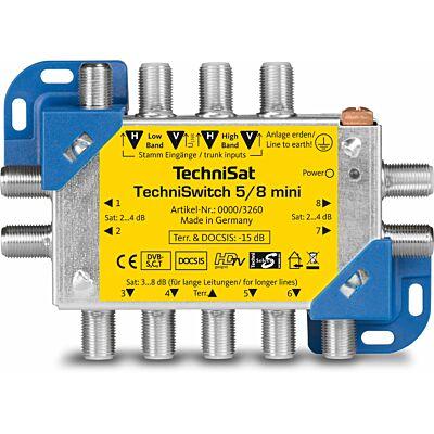 TECHNISWITCH 5/8 Mini, blau/gelb