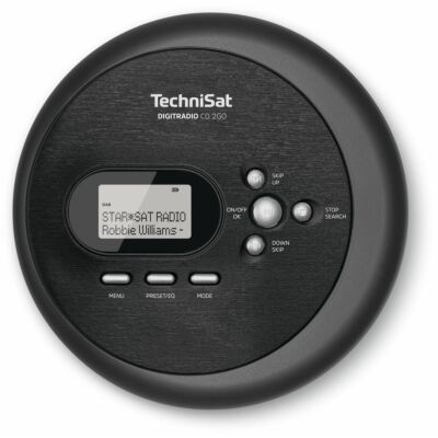 DIGITRADIO CD 2GO, schwarz