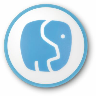TECHNIFANT Schlummerlicht, weiß/blau
