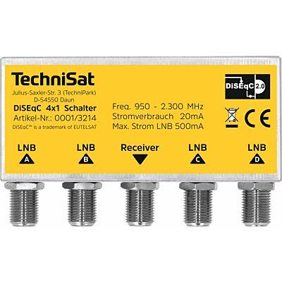 DiSEqC 4x1 Switch, Wetterschutzgehäuse