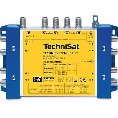 TECHNISYSTEM 5/8 G2 DC-NT (Grundeinheit), blau/gelb