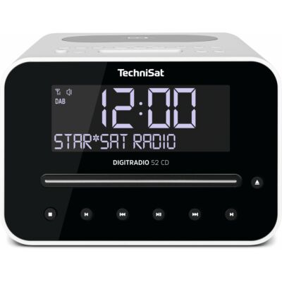 DIGITRADIO 52 CD, weiß (B-Ware)
