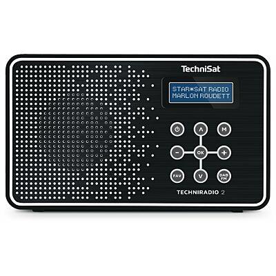 TECHNIRADIO 2, schwarz/weiß (C-Ware)