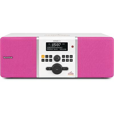 DIGITRADIO 305 Schlagerparadies Edition, weiß/pink