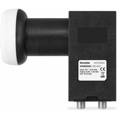 WIDEBAND-LNB WB1, 40 mm, schwarz
