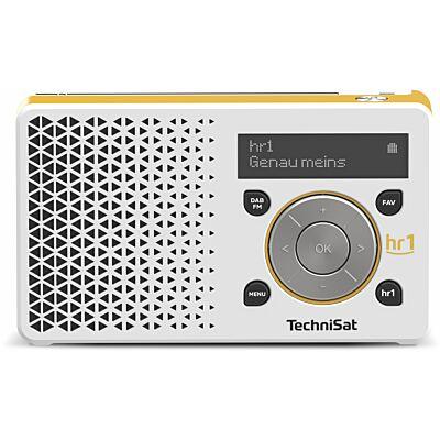 DIGITRADIO 1 hr1 Edition, weiß/gelb