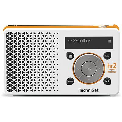 DIGITRADIO 1 hr2 Edition, weiß/orange