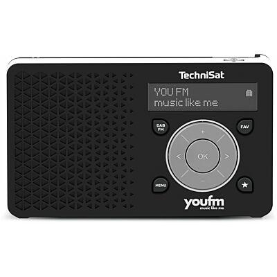 DIGITRADIO 1 youfm Edition, schwarz/weiß