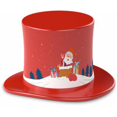 TECHNIFANT Hütchen Weihnachtszauber, rot