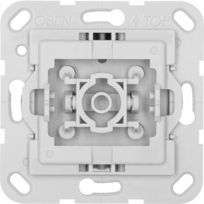 Ausschalter-Einsatz, kompatibel zu Gira, hellgrau