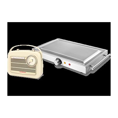 Aktionsset TEPPANyaki Edelstahlgrill M1500 + Transita 130 Digitalradio